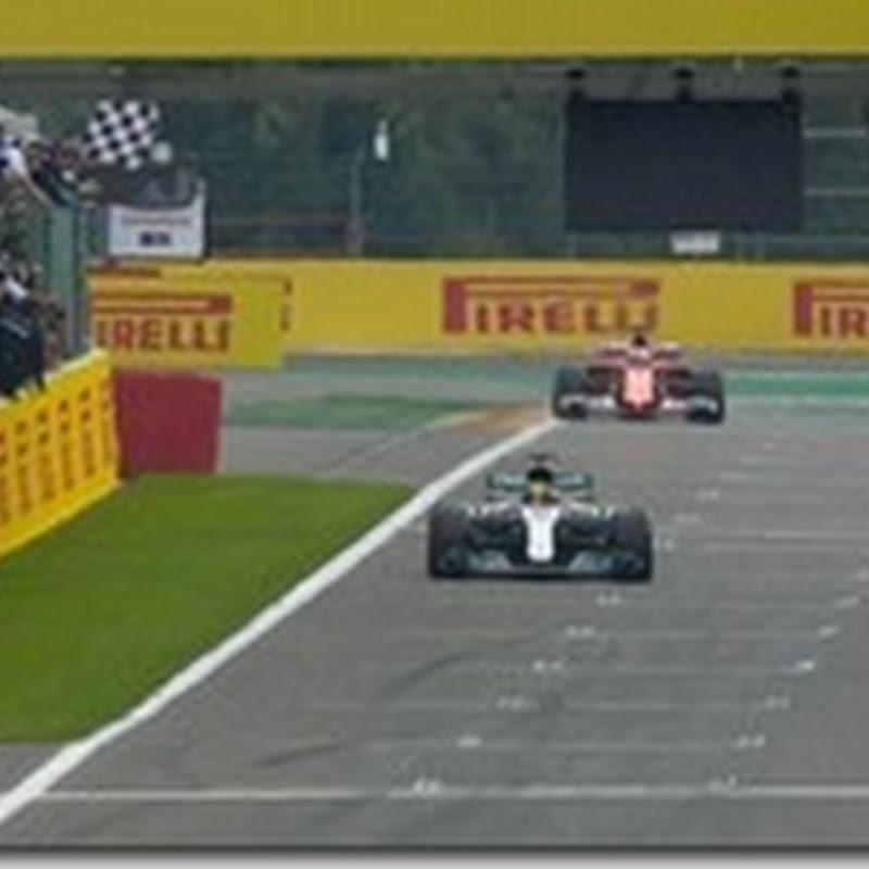 GP del Belgio: Domina Hamilton