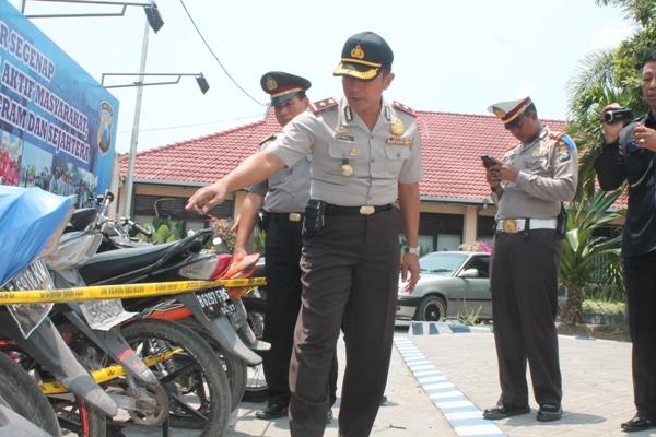 Pihak Satlantas Polres Ngawi memanggil orangtua pengendara sepeda motor yang masih di bawah umur