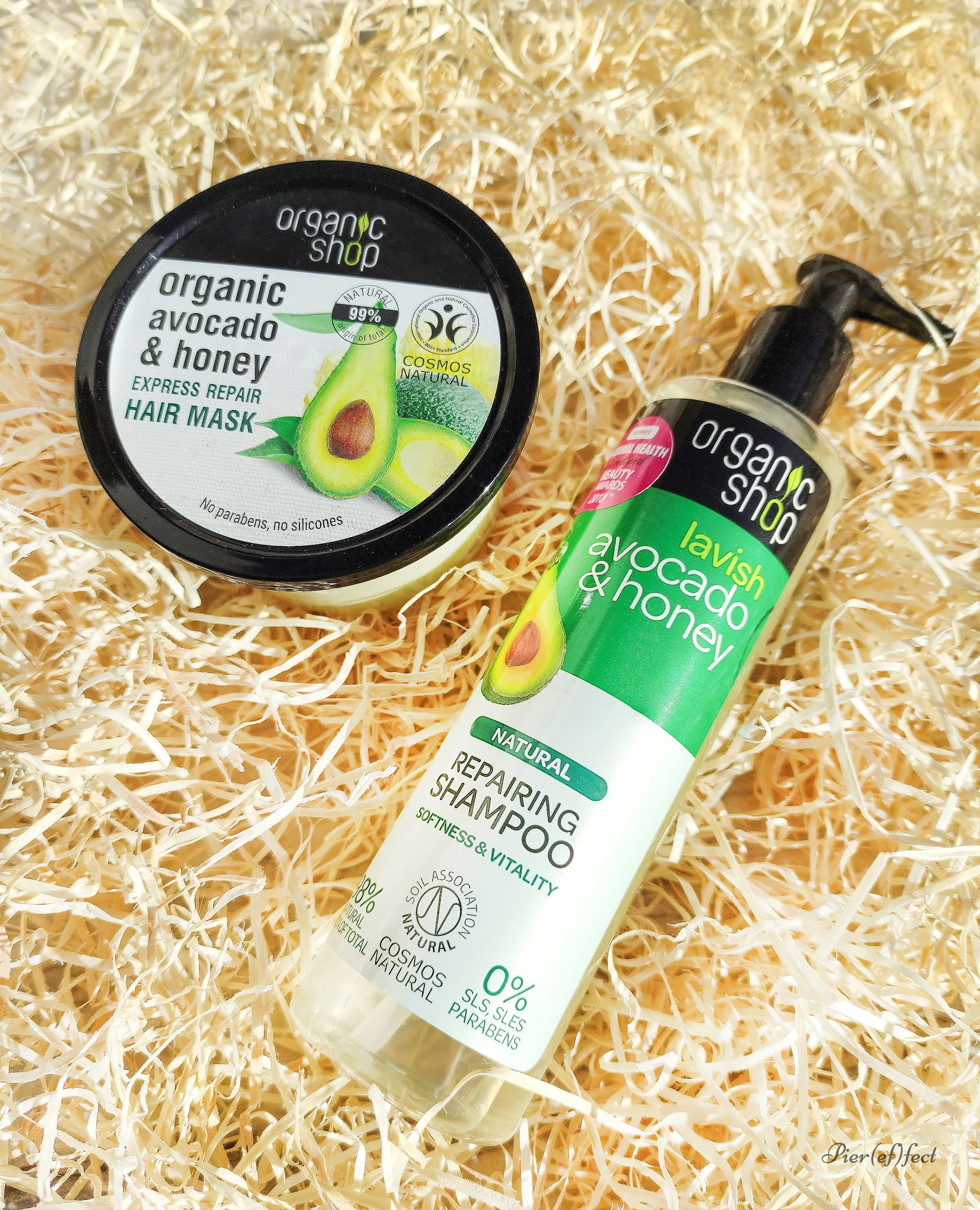 organic shop hair mask shampoo recensioni