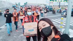 Pemuda Pancasila Koti Mahadinata Militan Jawa Tengah Bagi Takjil Gratis di Parakan Temanggung