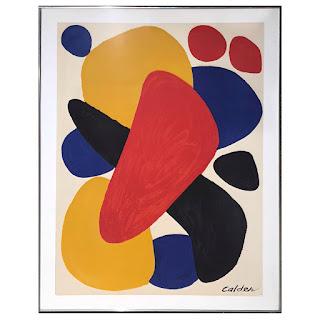 Alexander Calder Largescale Serigraph