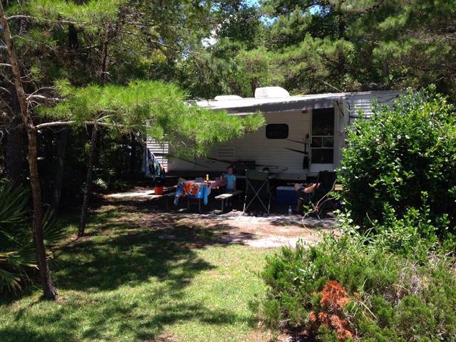 Topsail State Park Campground Site 159