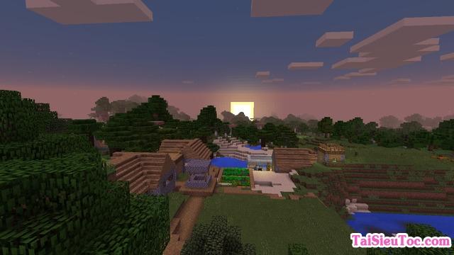 Xây thành lũy trong Minecraft