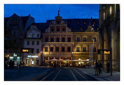Nachtwächterführung - Erfurt - Das Gildehaus am Fischmarkt