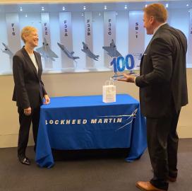 Michele Evans of Lockheed Martin Receives First Wash100 Award