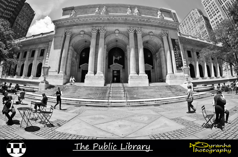 Photo: The Public Library  Another shot from my trip to +New York City from May 28th till June 4th. Taken on one of the last days, June 2nd, while just walking through the streets!  Licencing available via Flickr/+Getty Images: http://www.flickr.com/photos/rene_p/7442811520  #+New York Magazine #+The New York Times #+New York City #+NY Free Guide #+G+ NY Photowalkers