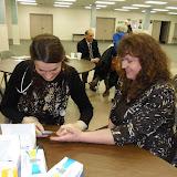 Spotkanie medyczne z Dr. Elizabeth Mikrut przy kawie i pączkach. Zdjęcia B. Kołodyński - SDC13629.JPG