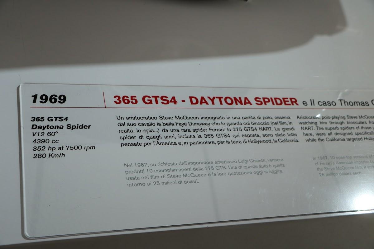 Modena - Enzo Museum 0025 - 1969 Ferrari 365 GTS4 Daytona Spider.jpg