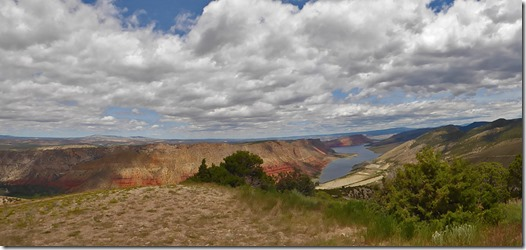 Sheep Creek Overlook, Flaming Gorge