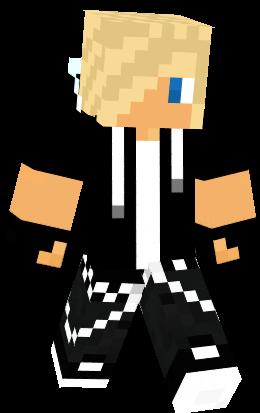 Cool Blond Guy Nova Skin