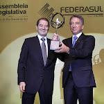 Ricardo Russowski, Presidente da Federasul e Germano Rigotto