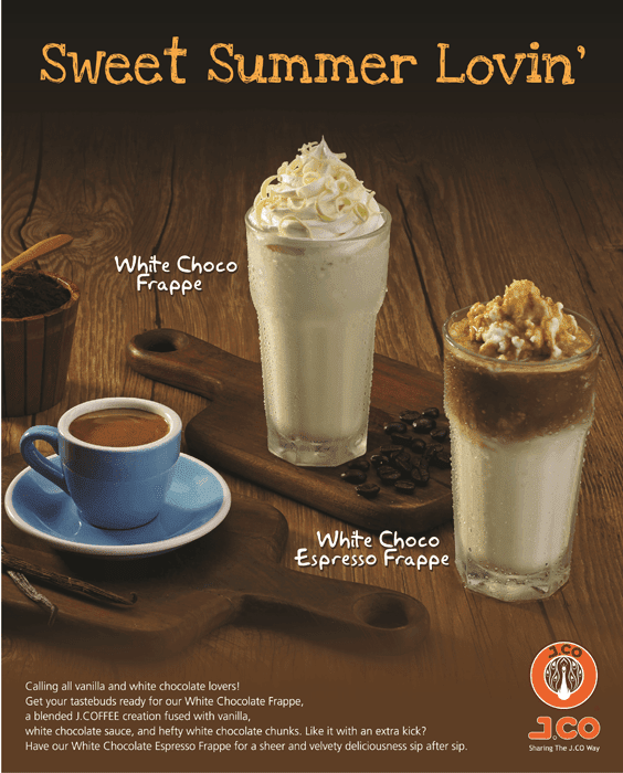 White Choco Frappe from J. CO.