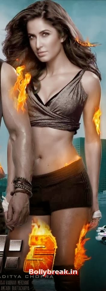 Katrina Kaif Hot Dhoom 3 Poster - Zoom