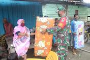 Kepedulian Kepada Korban Banjir Bandang, Pangdam XIV/HSN Salurkan Bantuan Kasur Untuk Warga