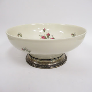Rosenthal Ceramic & Sterling Bowl