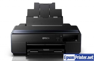 Reset Epson SC-P600 printer with program