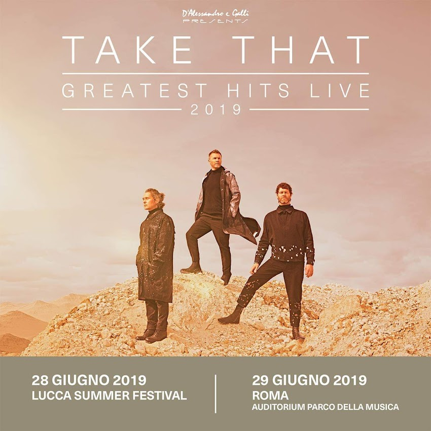 Due date per i Take That quest'anno in Italia