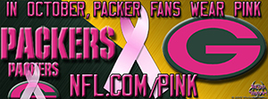 Packers Breast Cancer  Awareness