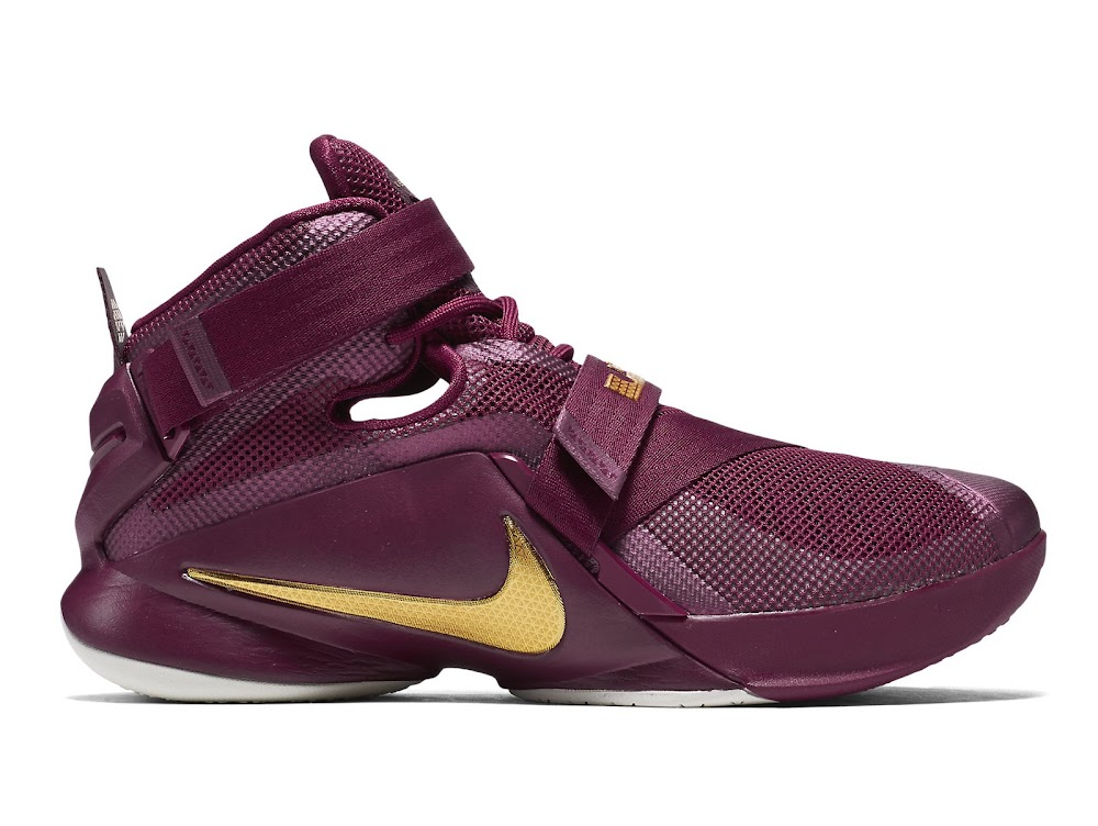 buy popular 4b5a5 10087 Nike Releases Special Soldier 9 Colorway For Cavs and or CTK Fans   NIKE  LEBRON - LeBron James Shoes