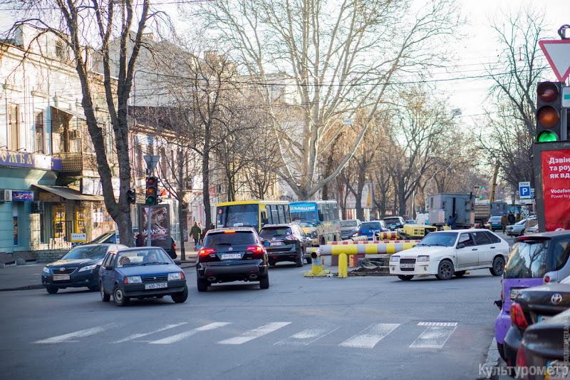 DSC00080 Хаос в центре Одессы