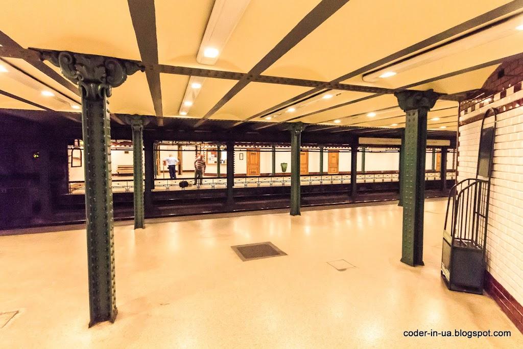 метро. будапешт. венгрия