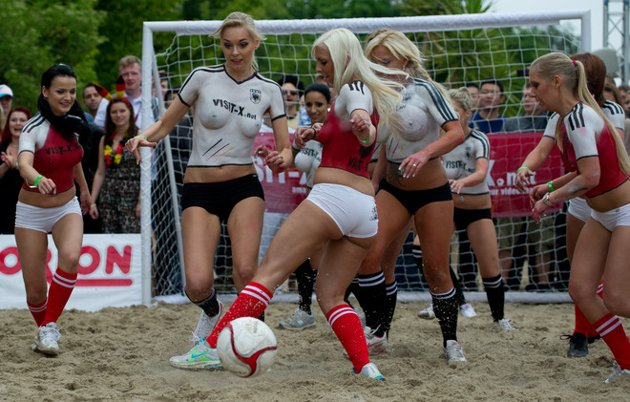 An Alternative Euro 2012 Denmark V Germany Porn Star Match