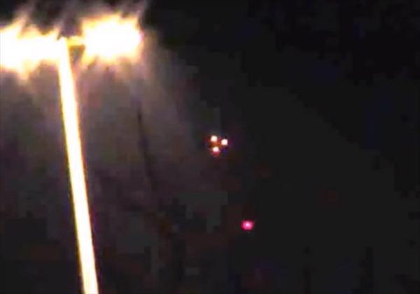 NA RÚSSIA, UM UFO LUMINOSO FEZ A ALEGRIA DOS UFÓLOGOS