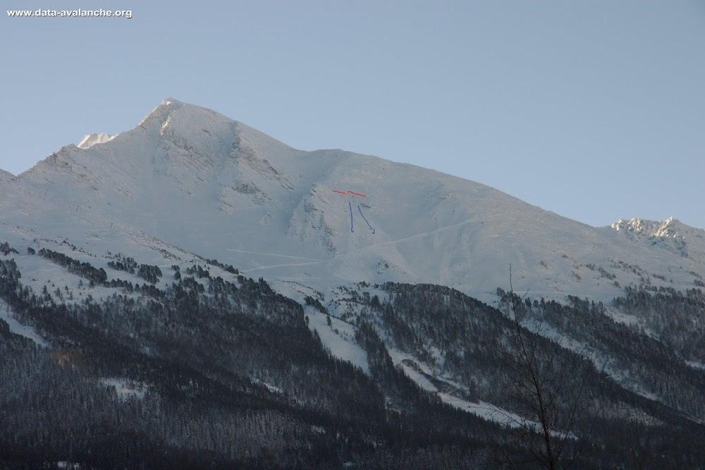 Avalanche Haute Maurienne, secteur La Norma, Secteur des Crêtes - Photo 1