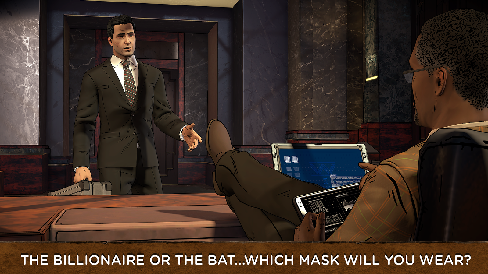 Batman: The Enemy Within- screenshot
