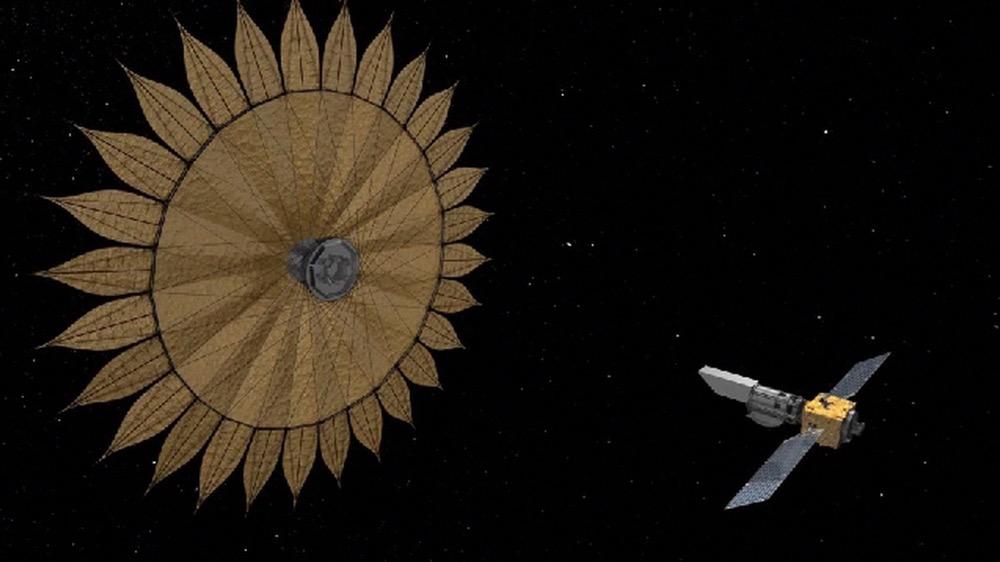 Starshade telescope
