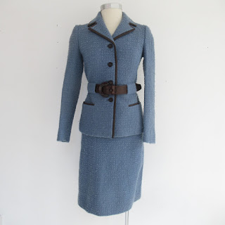 Prada for Bergdorf Goodman Bouclé Skirt Suit