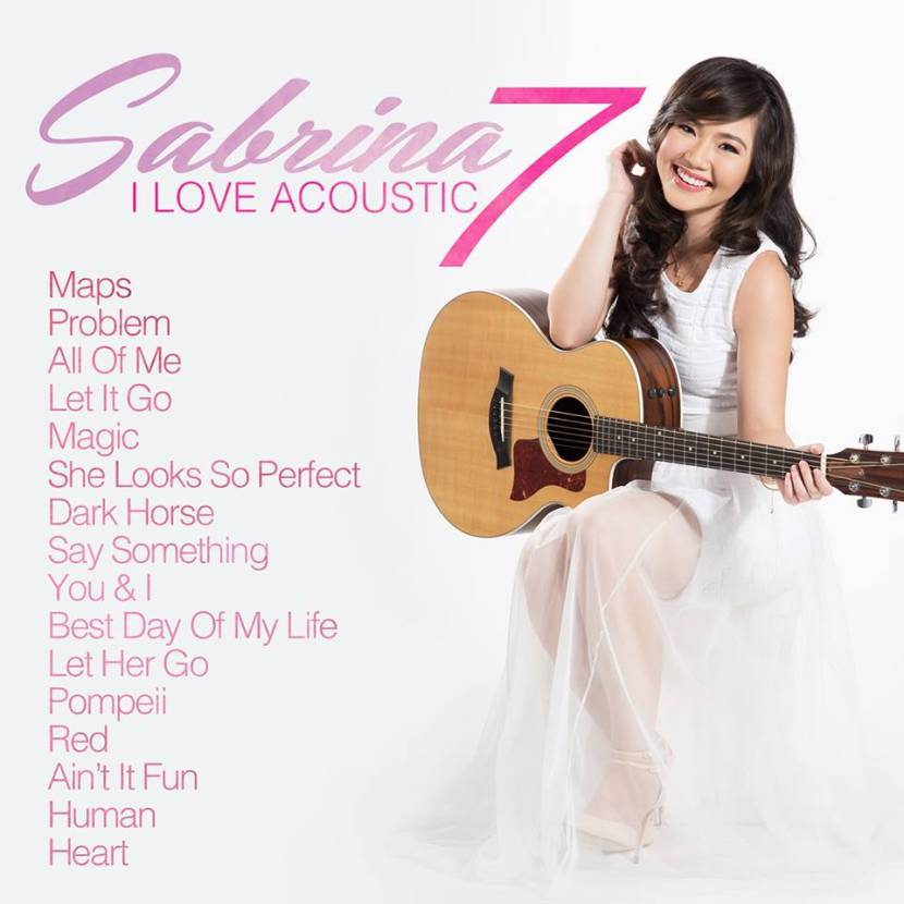[Full Album] Sabrina - I Love Acoustic 7