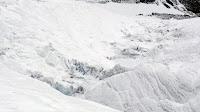 prikazuje svu silu ledene rijeke