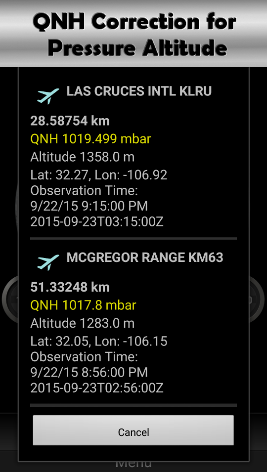 DS Altimeter Screenshot 6