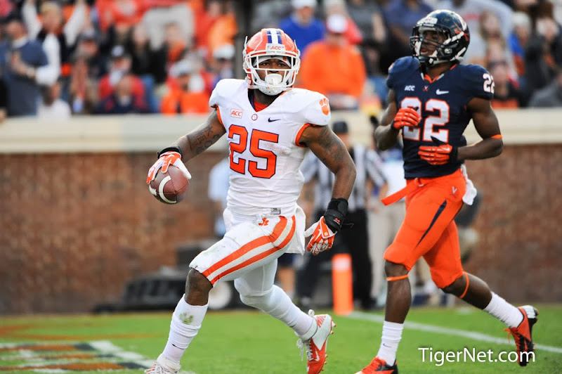 Clemson vs Virginia Photos - 2013, Football, Roderick McDowell, Virginia