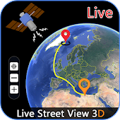 Earth Map Live : Satellite View And GPS Tracker