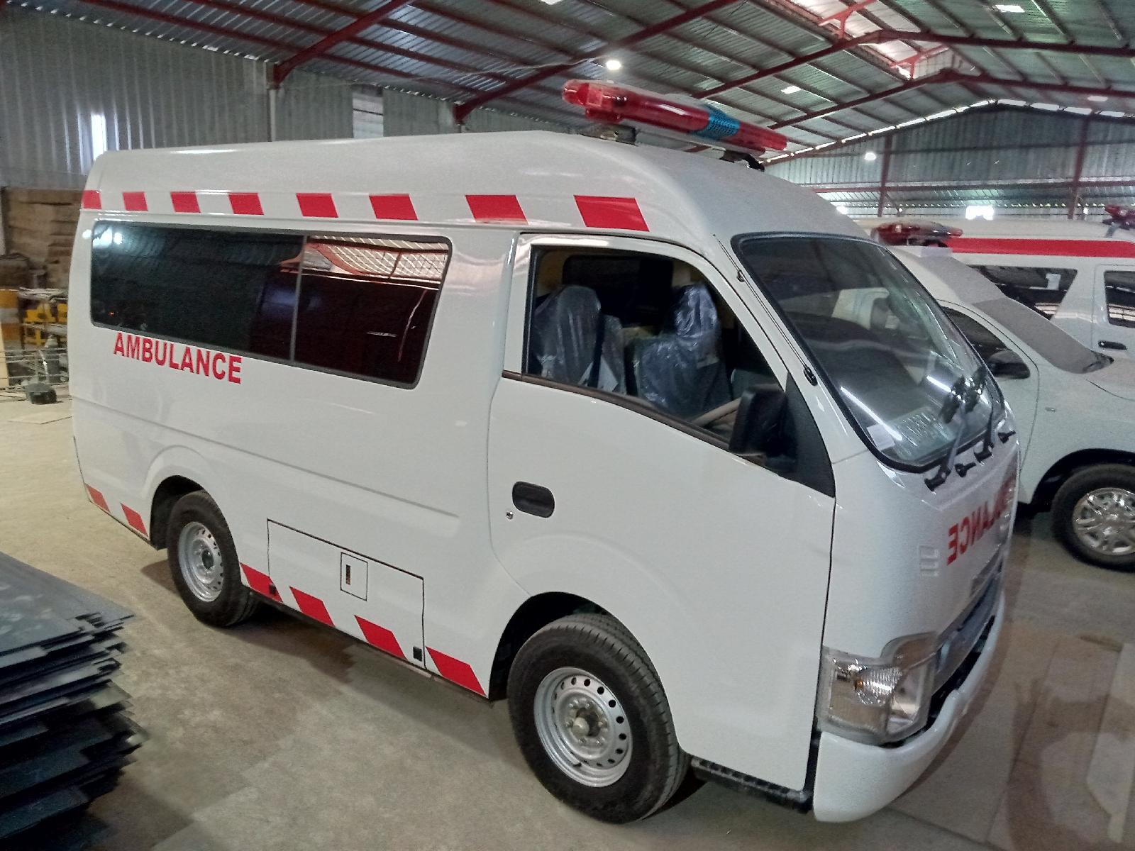 Showroom Karoseri Ambulance Isuzu Traga Bekasi