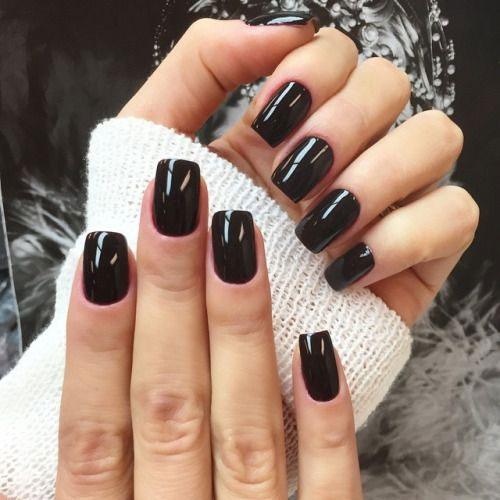 100 Black Gel Nail Art Designs Ideas Fashionre