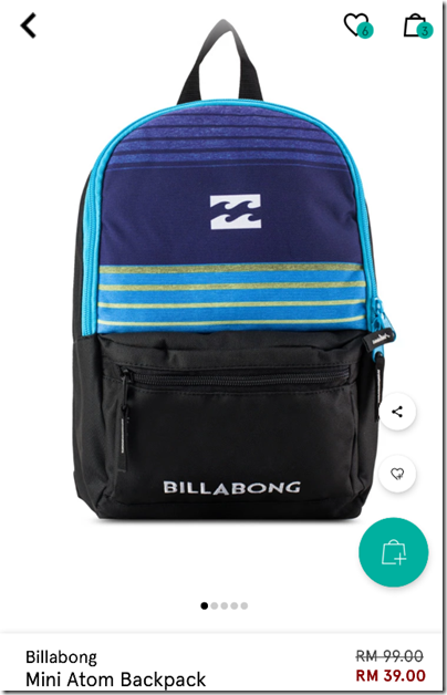 Billabong Atom Mini Backpack