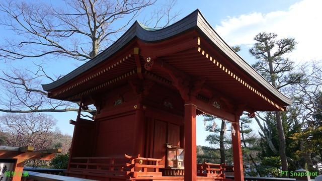 红色的神社