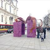 Weihnachtsdeko, Flaniermeile Krakowskie Przedmieście