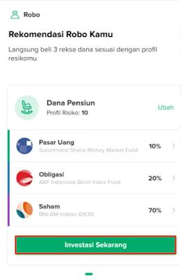 Klik Tombol Investasi Sekarang