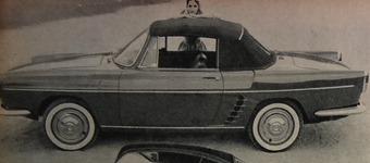 Renault 1960 Floride Cabriolet