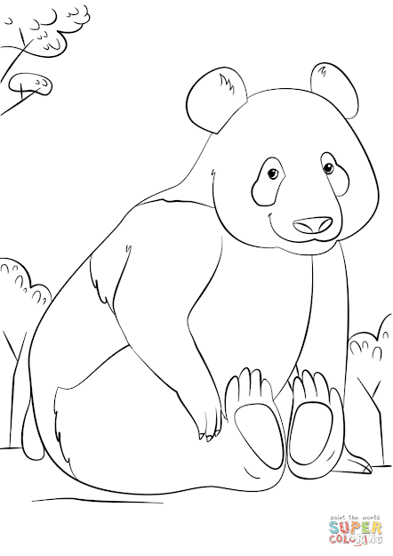 Click The Cute Panda Coloring Pages To View Printable Version Or Color It  Online Patible With Ipad And Android Tablets