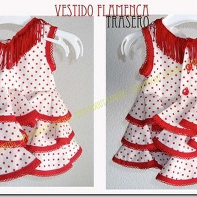 Traje/ Disfraz casero de flamenca con patrones