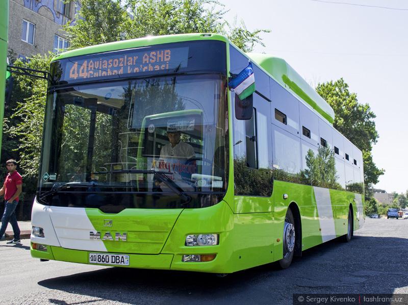 Новый MAN в Ташкенте
