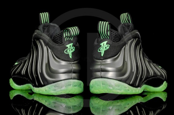 Nike Air Foamposite Pro Electric Green Black Shoes