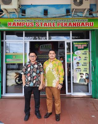 Training of Trainer E-Learning Bagi Admin Di Sekolah Tinggi Agama Islam Lukman Edy Pekanbaru