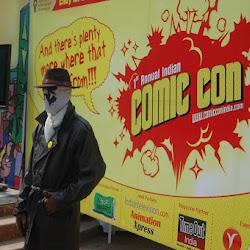 Comicon Feb 19-20, 2011 - New Delhi