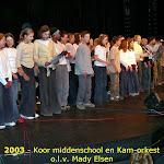 Muziekavond 2003